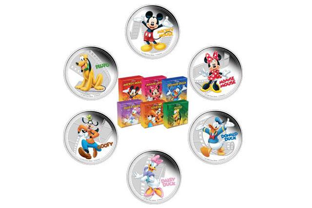 Disney coins