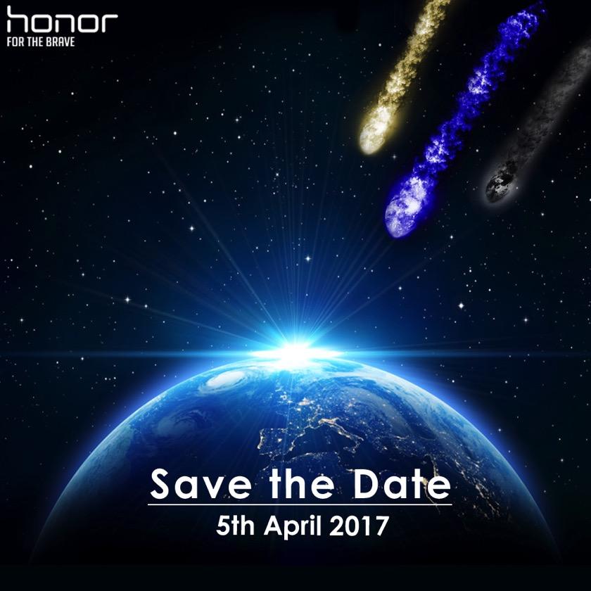 Honor zeigt am 5. April ein neues Smartphone für Europa