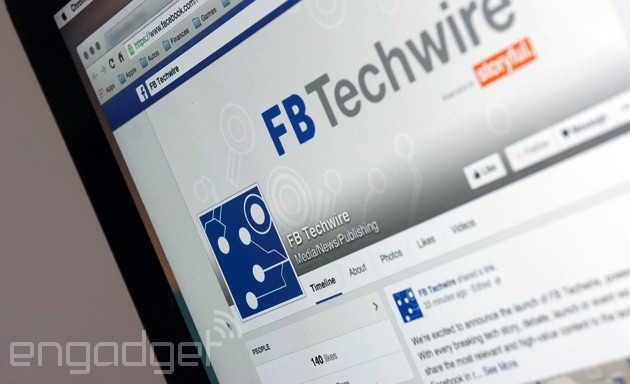 Facebook's latest page keeps you updated on tech news