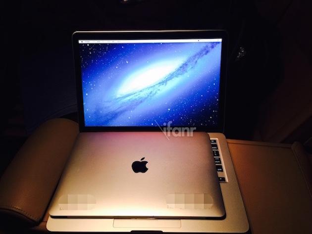 疑似 12 吋 MacBook Air 顯示器諜照 ...
