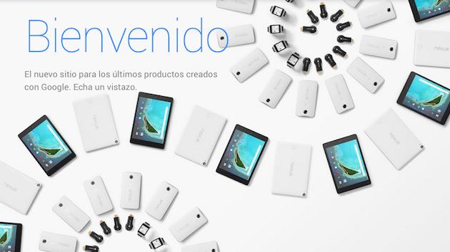 Google abre una nueva tienda online para todos sus dispositivos