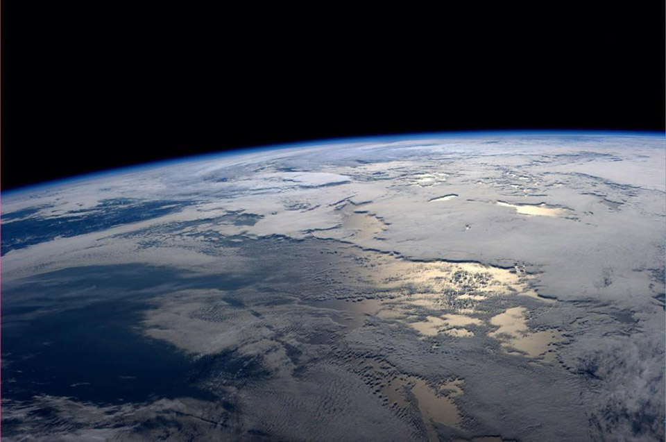 Life on the ISS as seen through social media