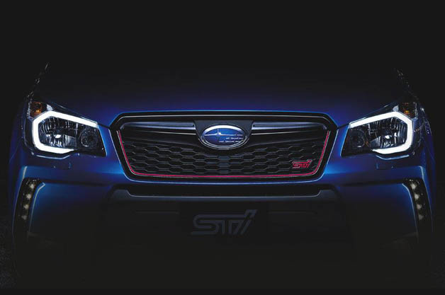 Subaru Forester STI teaser