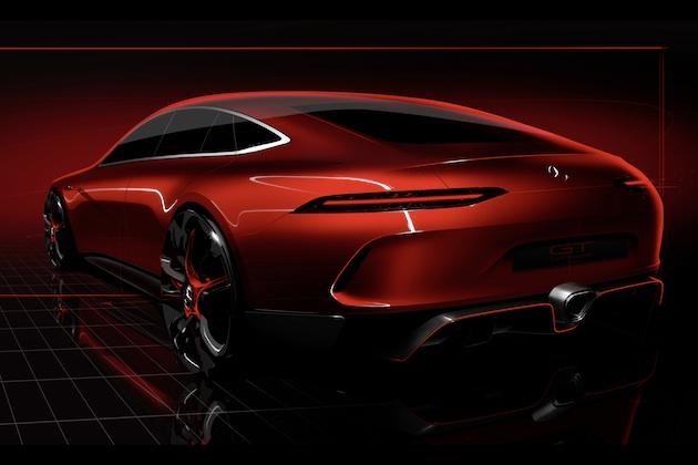 4ドアの「メルセデスAMG GT」がジュネーブ・モーターショーに登場