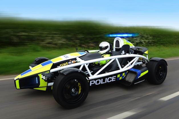 Ariel PL1 police car