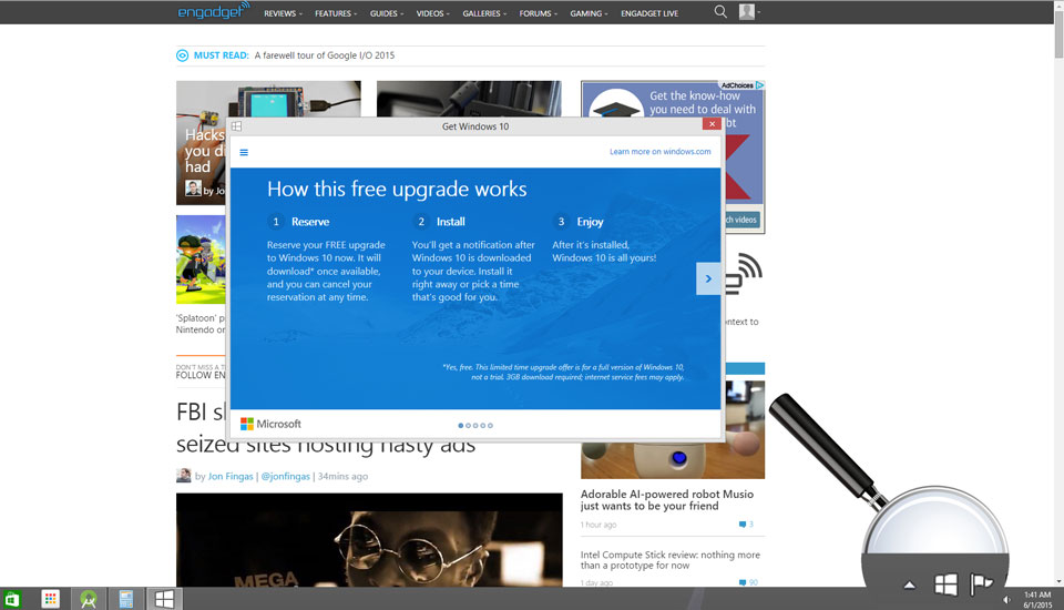 Windows 10 testers can keep it for free, with a small catch