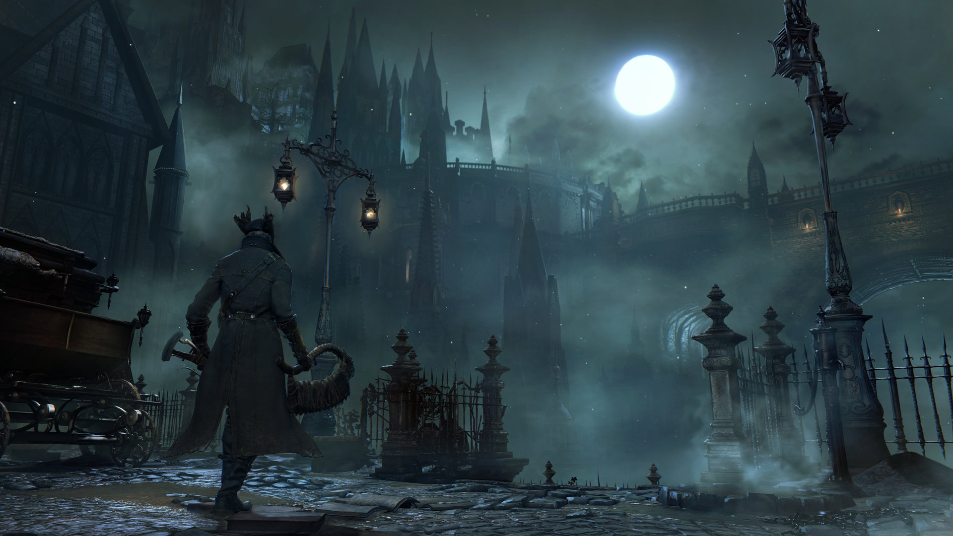 How similar are Dark Souls and Bloodborne?