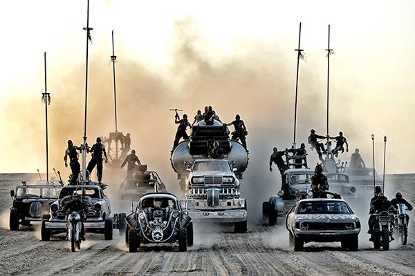 V8!V8!全シーンがベストシーンだッ!映画『マッドマックス 怒りのデスロード』が「あなたのベストMADシーン」を大絶賛募集中