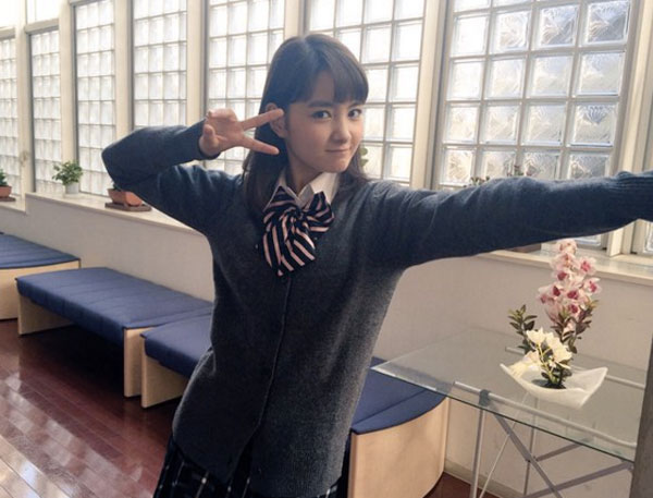 若手女優・葵わかなの女子高生姿が可愛すぎると話題に 「久々にド真ん中のJKきた!」