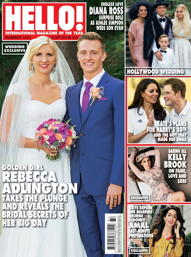 Rebecca Adlington marries Harry Needs