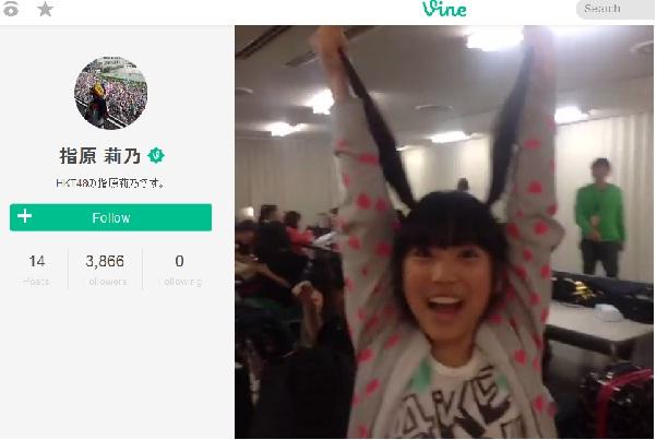 HKT48矢吹奈子(12)が大人気 指原が撮った矢吹の動画にAKBの先輩も「ただの天使」と絶賛