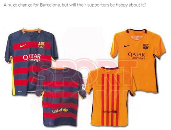 FCバルセロナの新ユニフォームが「ダサすぎる」とサポーターから批判殺到