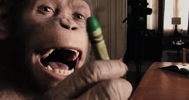apehood Apehood Is a Boyhood/Apes Mashup Guaranteed to Make You Feel Things (VIDEO)
