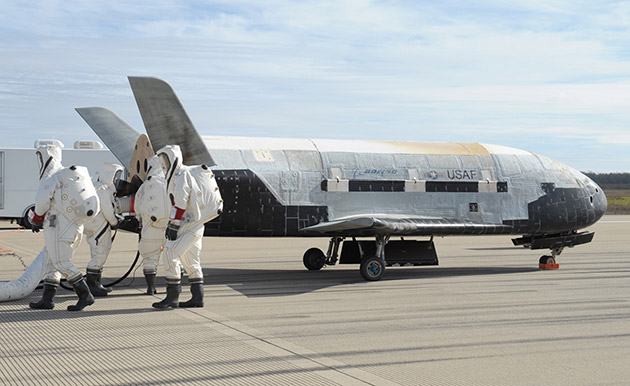 Secretive drone will test materials for future spacecraft