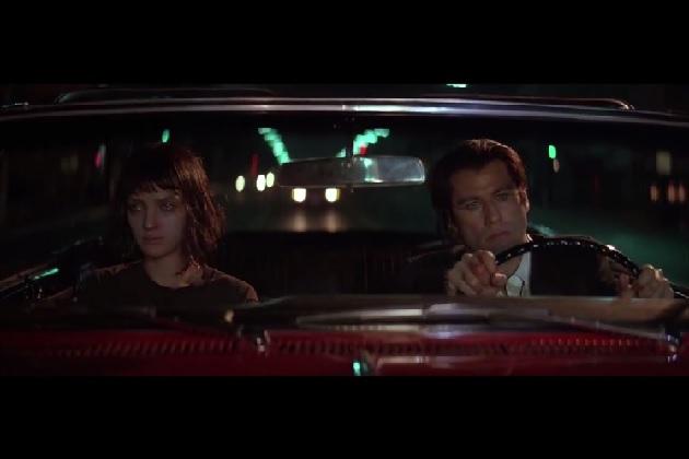 【ビデオ】クエンティン・タランティーノ監督作に登場する運転シーンのまとめ映像