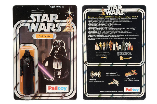 Superfan's original Star Wars toys expected to fetch £100,000 at auction