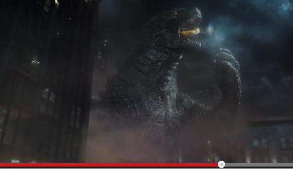 恐怖!ハリウッド版「ゴジラ」とフィアットのコラボCMが話題 街で破壊の限りを尽くす