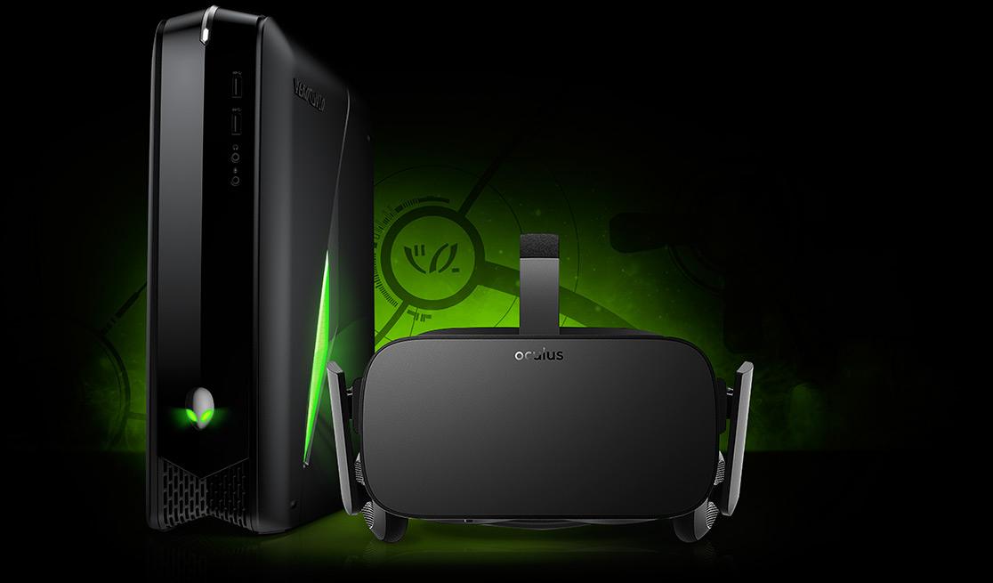 Alienware presenta un equipo especialmente diseñado para Oculus Rift