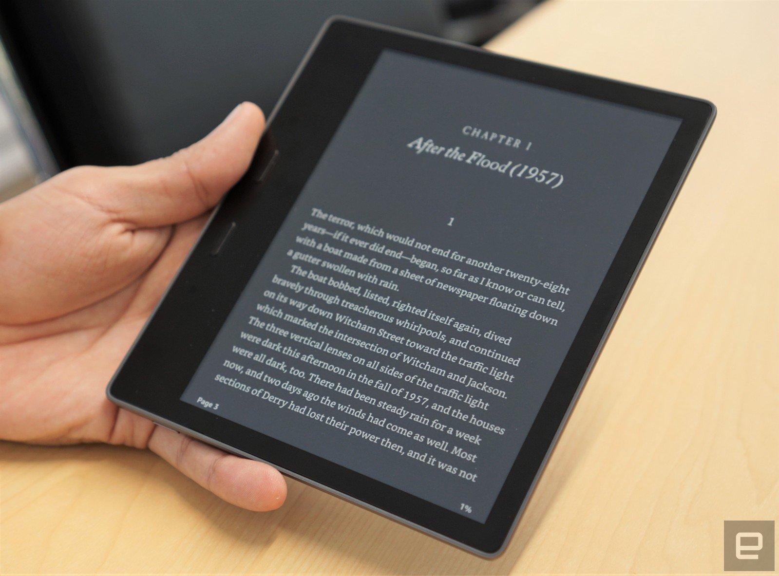 Así es el nuevo Kindle Oasis, con pantalla más grande y resistente ¡por fin! al agua