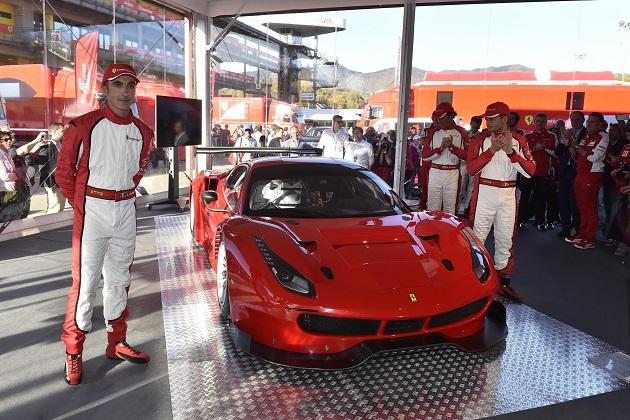 フェラーリ、「488 GTE」と「488 GT3」をムジェロサーキットでお披露目