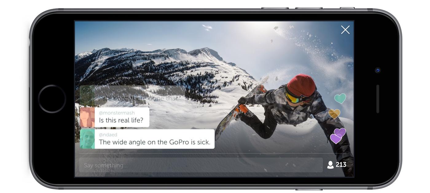 Las GoPro ya pueden retransmitir en directo por Periscope