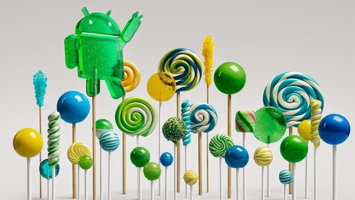 Android 5.0は Lollipop (ロリポ...