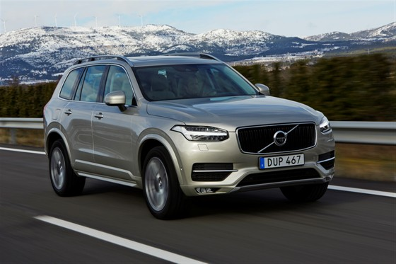 The new Volvo XC90 D5 driven in Tarragona, Spain