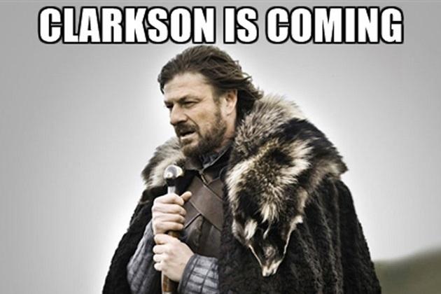 ジェレミー・クラークソンが新番組『グランド・ツアー』で人気ドラマ『ゲーム・オブ・スローンズ』のセットに登場!?