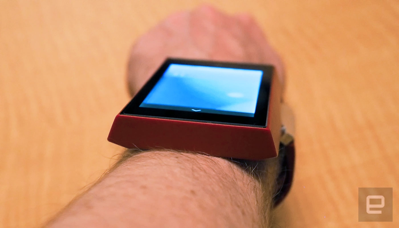 Meet the wearable tablet you might use at your next job