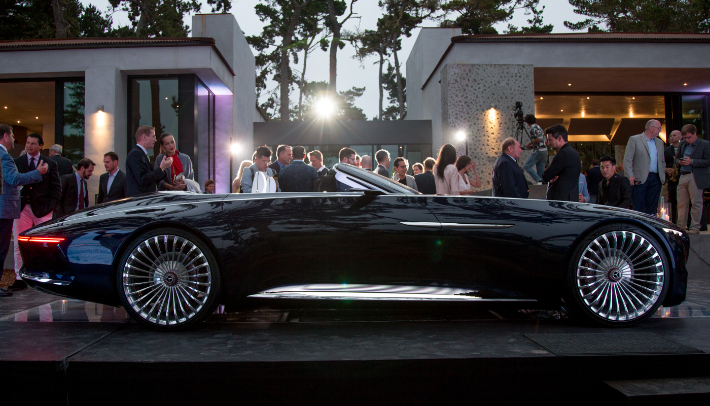 Maybach 6 Cabriolet Konzept: elektrisches 6-Meter-Retro-Monster