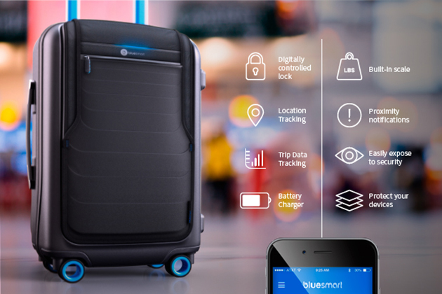 Bluesmart wants to crowdfund the 'world's first' connected luggage