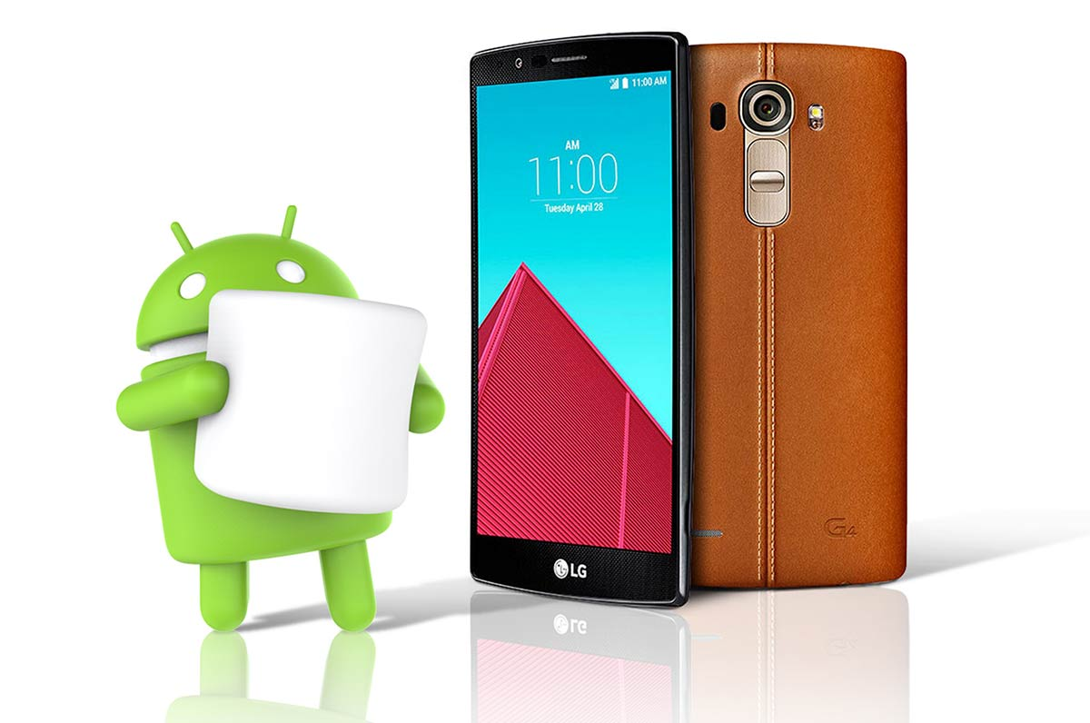 LG first to push Android Marshmallow to its own flagship