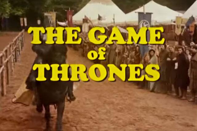 game of thrones sitcom