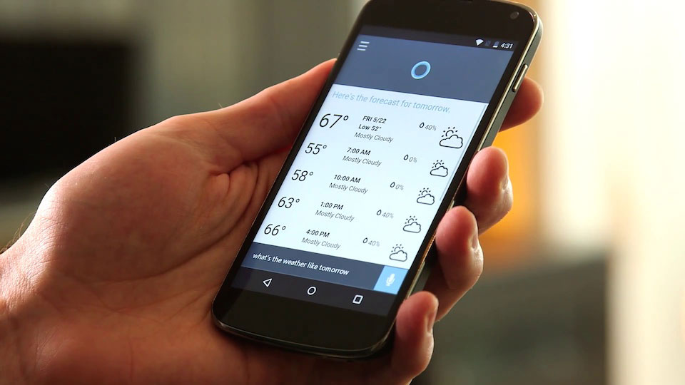 Microsoft Cortana on Android