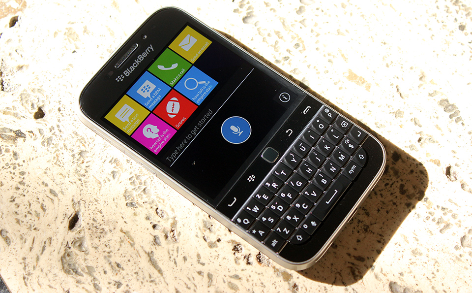 BlackBerry's Classic throwback isn't just a gimmick
