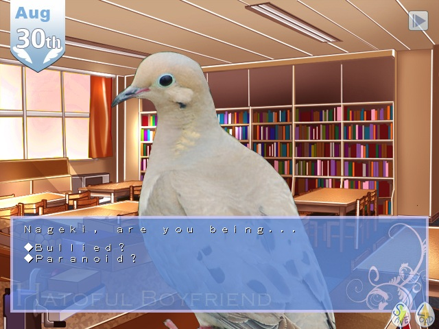 Pigeon love simulator Hatoful Boyfriend is flying to PS4 and Vita!