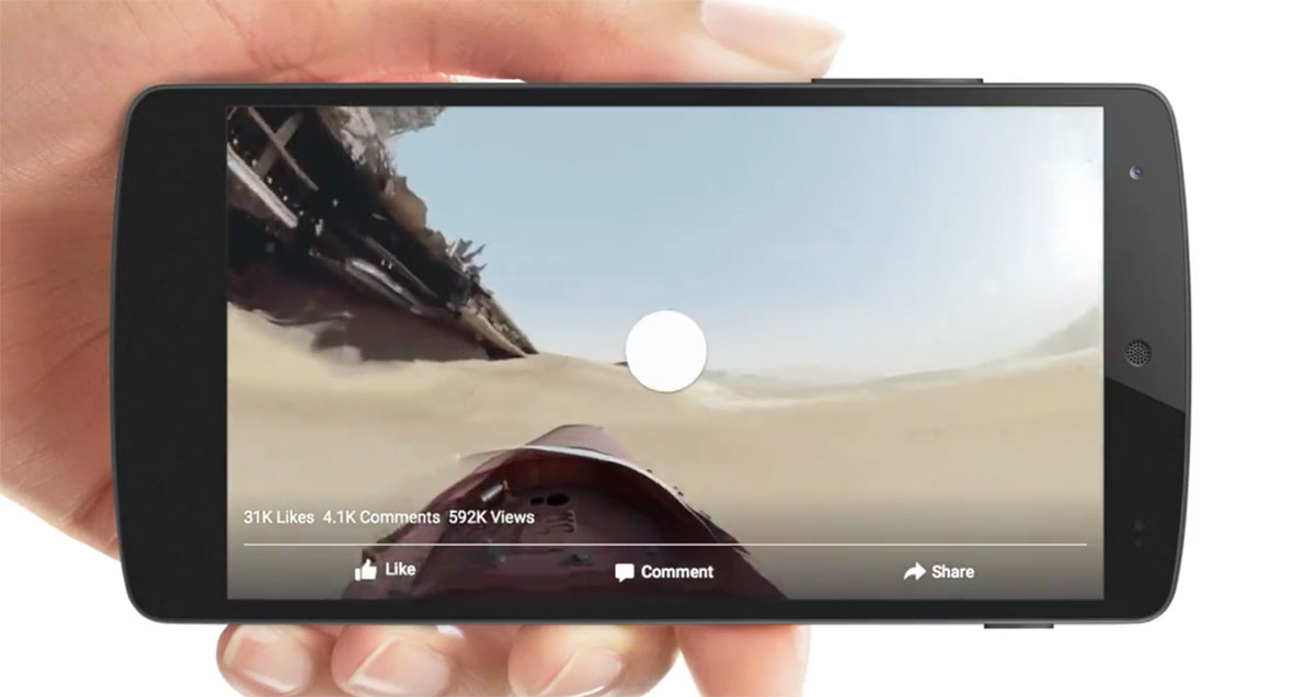 Facebook explains the tech behind its 360-degree videos