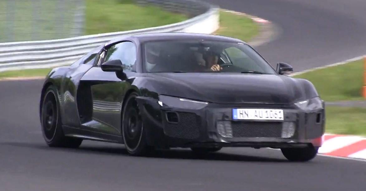 audi, Audi R8, Audi R8, Audi R8 V10, featured, der neue Audi R8, Erlkönig, grüne Hölle, Nürburgring, R8, spy shot, Video, R8