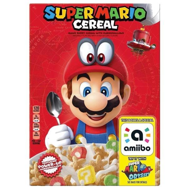 El próximo amiibo de Nintendo es ¡una caja de cereales!