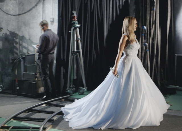 Katherine Jenkins wows in bridal gown for Citizen Watches ad campaign