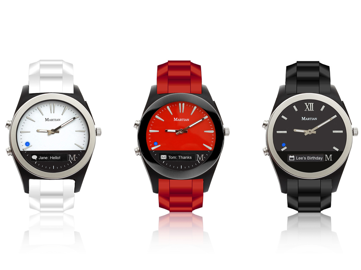 The Martian Notifier Smartwatch is now over 70 percent off