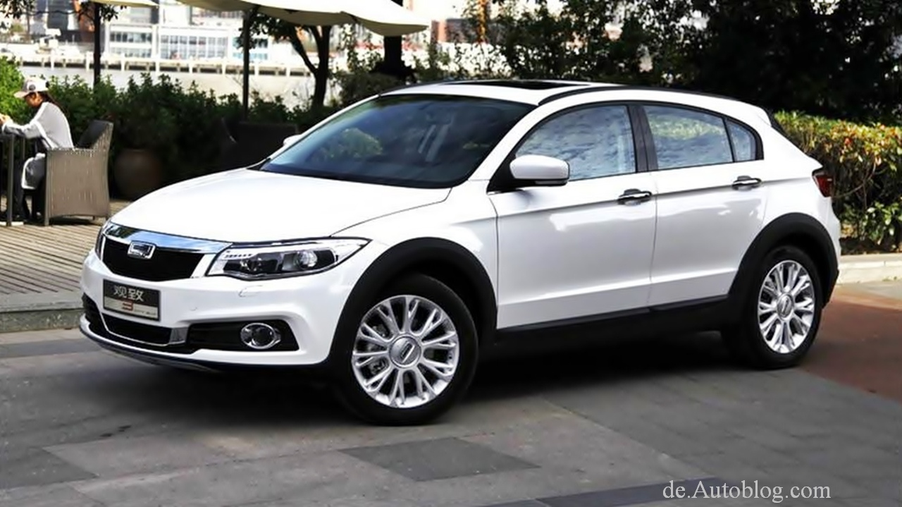 Neuer China Crossover: Qoros 3 City SUV