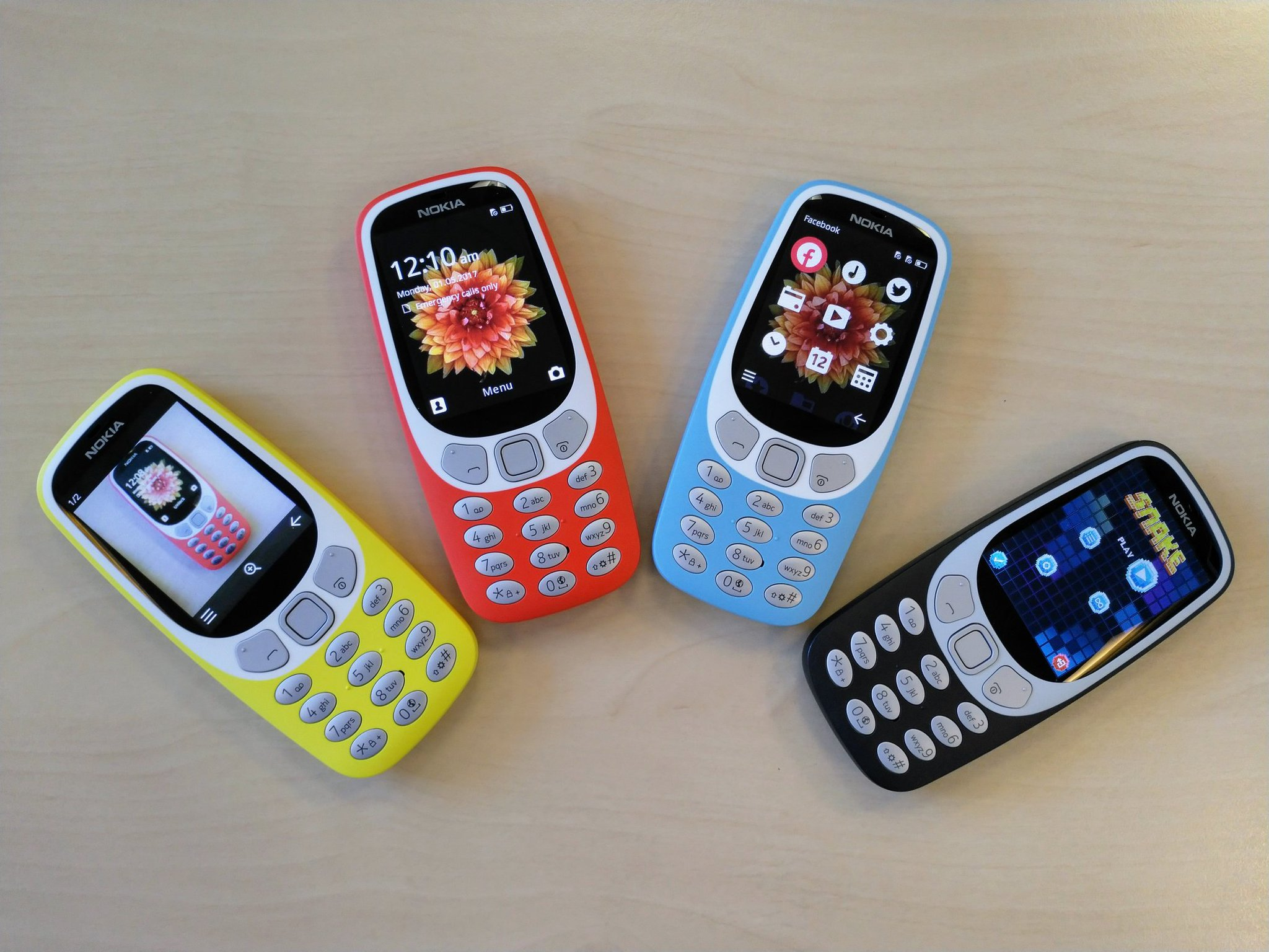 Nokia 3310 kommt auch als UMTS-Version