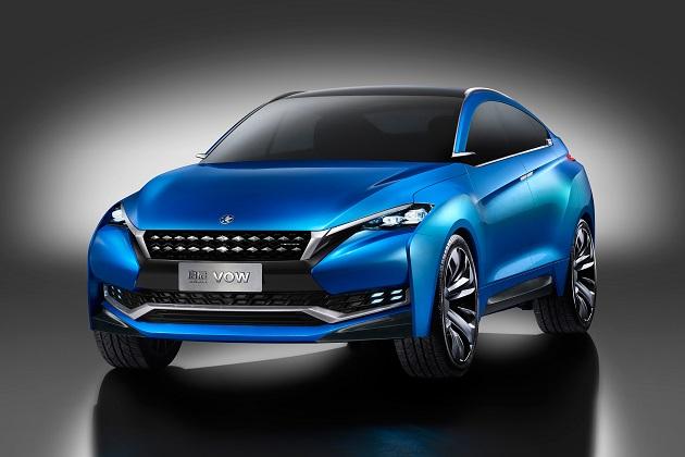 【上海モーターショー2015】東風日産のヴェヌーシア、クロスオーバー・コンセプト「VOW」を初公開
