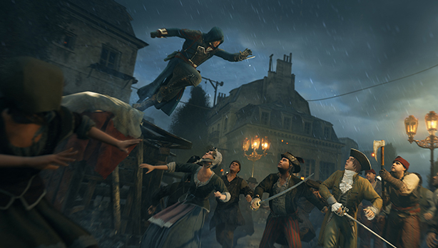 Assassin's Creed: Unity shows off sneaking, sweeping, PC specs