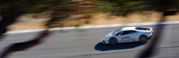Lamborghini Accademia at Mazda Raceway Laguna Seca