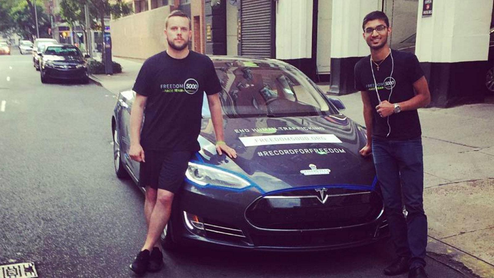 E-Rekord: Im Tesla von L.A. nach NYC in knapp 52 Stunden