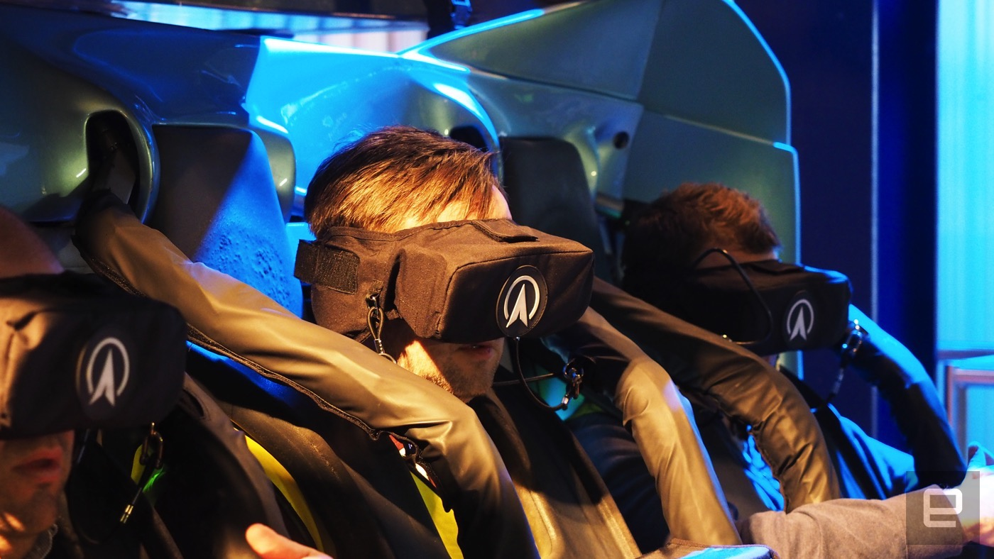 The UK's first VR roller coaster is a lonely trip through space