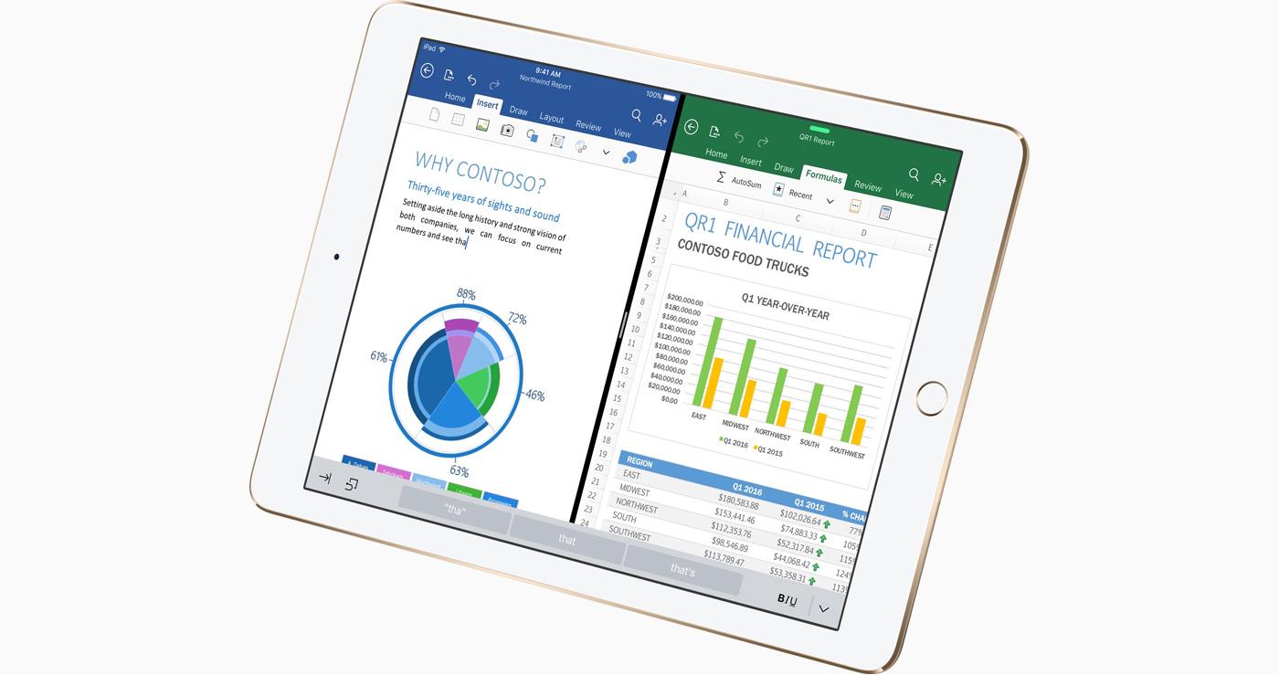 """El iPad Pro de 9,7"""" frente a la competencia"""