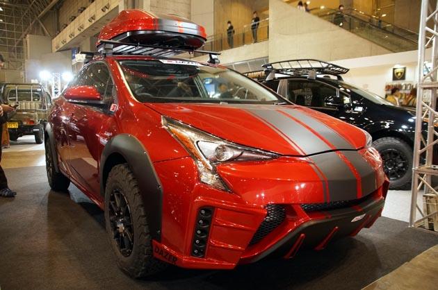 【東京オートサロン2017】なんとプリウスのSUV!? ECOカー部門最優秀賞に輝いたカスタマイズカーはコレ!!